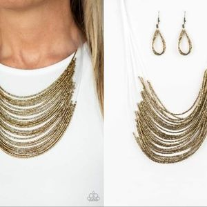 Seed Bead Necklace Set - Fashion Accessories